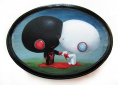Cuddly Rigor Mortis -- the artwork of Kristin Tercek Cute Food Art, Rigor Mortis, Dark Pictures, Dark Pics, Acid Trip, Atc Cards, Creepy Cute, Pop Surrealism, Kokoro