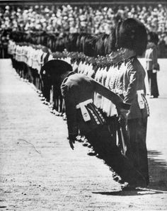 the passing out of the guard