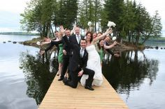 Island wedding at Calabogie Peaks Resort Dream Wedding, Wedding Day, Wedding Dreams, Ottawa Valley, Dreams Do Come True, Outdoor Wedding Venues, Island Weddings, How To Memorize Things, Restaurant