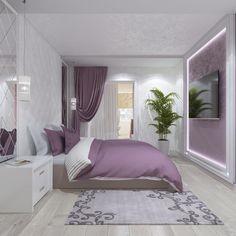 purple bedroom ideas , purple bedroom ideas for adults , purple bedroom ideas for teenage girl , purple bedroom ideas master bedroom Purple Bedroom Decor, Purple Bedrooms, Bedroom Colors, Home Decor Bedroom, Bedroom Ideas, Bedroom Black, Bedroom Bed Design, Modern Bedroom Design, Home Interior Design