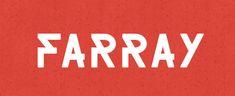Farray Font #freefonts #fontsfordesigners #fonts2014 #commercialfonts #typeface2014