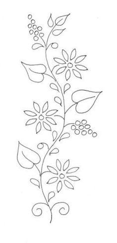 Resultado de imagem para ojibwe floral applique patterns