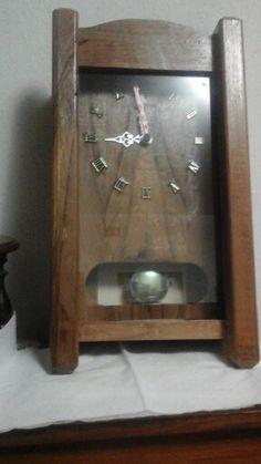 Orologio a pendolo di gelso