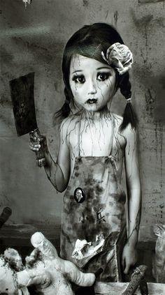 Eerie | Creepy | Surreal | Uncanny | Strange | Macabre | 不気味 | Mystérieux | Strano | Photography | Teddy Bear Serial killer...