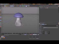 C4D Tutorial - Jellyfish Animation [silent] - YouTube
