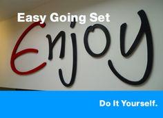 Wandtattoos - Wandtattoo ★ DIY ★ Kreativ-Set - ein Designerstück von abc_ABC bei DaWanda