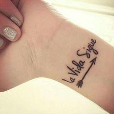 New travel tattoo spanish ideas – Travel Mini Tattoos, Trendy Tattoos, Body Art Tattoos, Small Tattoos, Tattoos For Women, Cool Tattoos, Tattoo Ink, Spanish Quotes Tattoos, Art Lotus