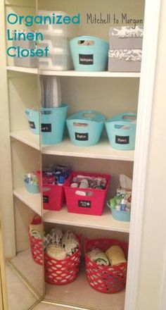 Mitchell to Morgan: Organization - Closet & Drawer overhaul (or The power of containers)