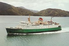 Interislander - New Zealand Railways - Tranz Rail - Ferry Postcards and Photographs Merchant Navy, New Zealand, Sailing, Around The Worlds, Boat, Cruise Ships, History, Kiwi, Sweet