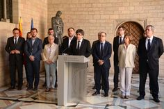"Catalonia's regional government has been ""de facto"" suspended by Spain's central government in Madrid, the President of the would-be breakaway region has said. Carles Puigdemont said in a statement on Wednesday that Catalonia was experiencing a ""state of emergency"" and that the Madrid government had ""crossed a red line"" to authoritarianism."