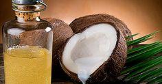 Alisar os cabelos com óleo de coco