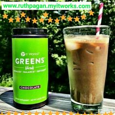 "It Works! Greens💚 Also available in Chocolate flavor.. Who wants to do the 90 Day Greens Challenge with me? It's a great way to get your daily Fruits and Vegetables.. You can even make a nice Chocolate Refreshing Smoothie😍 Looking to become healthier this is for YOU! Comment or Msg Me ""GREENS"" if interested 😉 #greens #healthy #healthier #greenlife #moms #delicious #tasty #sogood #lovemygreens #smoothie #fruits #vegetables #energy"