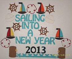 nautical bulletin board | Project 4: New Year 2013 (January)