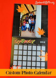 Share Memories Year Round With Custom Photo Calendar