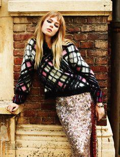 visual optimism; fashion editorials, shows, campaigns & more!: het blok is back: oksana by schmidt & gorges for grazia netherlands 6th novem...