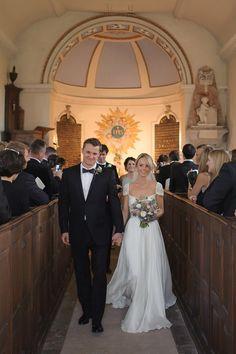 Reem Acra Elegance and Black Tie Glamour at Babington House | Love My Dress® UK Wedding Blog