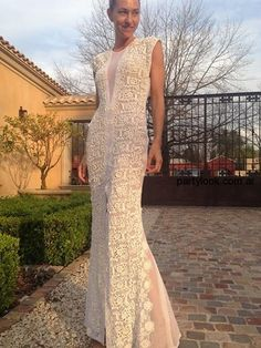 Vestidos El Camarin primavera verano 2015 Party Looks, Formal Dresses, Wedding Dresses, Fashion Outfits, Fashion Clothes, Crochet Projects, Boutique, Knitting, My Style