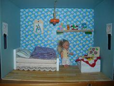 cameretta della bambola in scatola