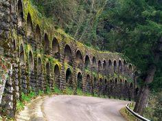 Osor pueblo de Gerona, Spain