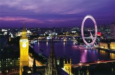 Top ten places to visit : #5 London... Oh how I would love to be here!