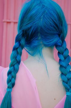 Love. Blue hair