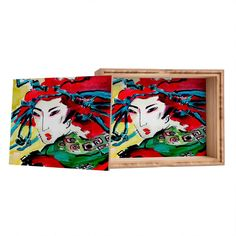 Ginette Fine Art #Japanese #Woman @DENYDesigns Home Accessories #Jewelry Box | DENY Designs Home Accessories