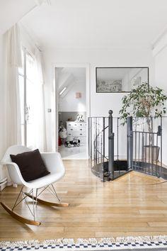 escalier de style bistrot modle dpos descaliers dcors wwwed eifr rampe et garde corps en protection trmie barreaudage avec un astragale par