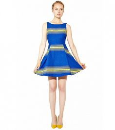 Alice + Olivia Holis Structured Dress ($440)  Your Ultimate Guide to Feminine Dressing for Spring via @WhoWhatWear