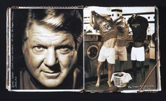 from my journals ...  Jimmy Johnson, from the Miami Dolphin days, shot in Miami.
