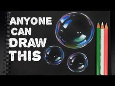 Blow you mind. or burst your bubble. or just BLOW BUBBLES! Begin Bubble Burst by Studying the way bubbles look. Pencil Drawing Tutorials, Colored Pencil Tutorial, Drawing Tutorials For Beginners, Black Paper, Bubble Art, Drawing Tutorial, Colored Pencils, Bubble Drawing, Color Pencil Art