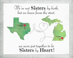 Ideas Diy Gifts For Friends Moving Away Heart Best Gifts For Girls, Diy Gifts For Friends, Birthday Gifts For Best Friend, Diy Gifts For Boyfriend, Best Friend Gifts, Gifts For Kids, Friend Moving Away Gifts, Gabi, Sisters By Heart