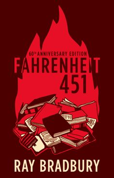 Fahrenheit 451 Book Covers by Sarah Suraci, via Behance