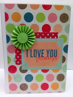 I love you because Board Book Album Premade Scrapbook- 6 x 8 on Etsy, $45.00