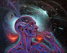 BY ALEX GREY....VISIONARY.....PARTAGE OF ALTERED STATES OF CONSCIOUSNESS ON FACEBOOK.....