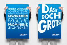 Wahlplakat Grotesk | Serifenlose Lineare Antiqua