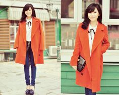 Orange juice?^_^ (by MAGIC  YANG) http://lookbook.nu/look/4522469-orange-juice