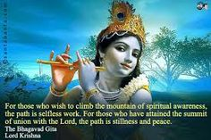 Discover and share Quotes From The Gita. Explore our collection of motivational and famous quotes by authors you know and love. Krishna Leela, Lord Krishna, Shree Krishna, Personal Growth Quotes, Gita Quotes, Spirit Quotes, Krishna Quotes, Bhagavad Gita, Spiritual Awareness