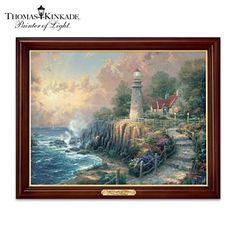 Thomas Kinkade The Light Of Peace Illuminating Canvas Print