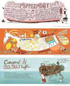 Fun animals and food