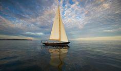 Hinckley Sailboat