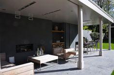 Modern veranda