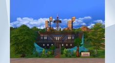 Check out this lot in The Sims 4 Gallery! - #restaurant #pirate #dineout #spaday #gettogether #fun #eat #eating #bar #pool #boat #ship #pirateship  #adventure #pirates #carribean #castaway #theme #halloween #spookystuff #cute #beautiful #gettowork #cafe #fullyfurnished #celebrity #furnished #nocc #piraterestaurant #themerestaurant #ocean #sea #seafood #underwater  #kithen #bathroom #lake #water #yacht #mansion #sims4 #old