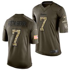 b1aab8627 Get this Pittsburgh Steelers Ben Roethlisberger Salute To Service Limited  Jersey at ThePittsburghFan.com Pittsburgh