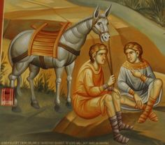 Week Icons in Our Narthex – Abraham and Isaac Byzantine Icons, Byzantine Art, Abraham And Sarah, Religious Icons, Orthodox Icons, Style Icons, Princess Zelda, Wallpaper, Painting