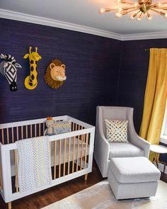 @babyletto on Instagram: ✨a glam safari-inspired nursery! 🦁| #babyletto Lolly crib | 📷: designed by mama @jessmerrill 💙