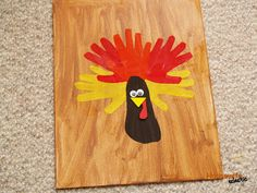 Housewife Eclectic: Canvas and Fabric Hand Print Turkey Tutorial - Hand Print Craft for Kids (housewifeeclectic.com)