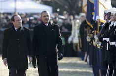 Obama y Hollande ratifican su unidad en Irán y Siria y dan por cerrado el espionaje