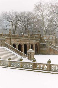 Snow in Central Park #winter New York Snow, Nyc Snow, New York Winter, San Diego, San Francisco, San Antonio, Nashville, Orlando, Nova Orleans