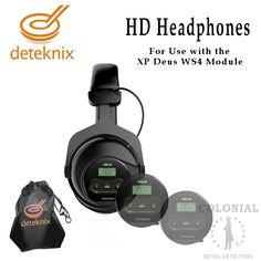 Deteknix HD WS4 Headphones | Colonial Metal Detectors