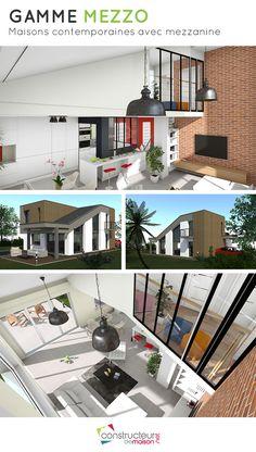 10 meilleures images du tableau MEZZO - Maisons modernes avec ...
